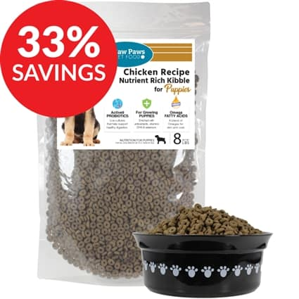Premium Grain Free Chicken Kibble for Puppies (Bundle Deal) & Other Healthy Dog Selections