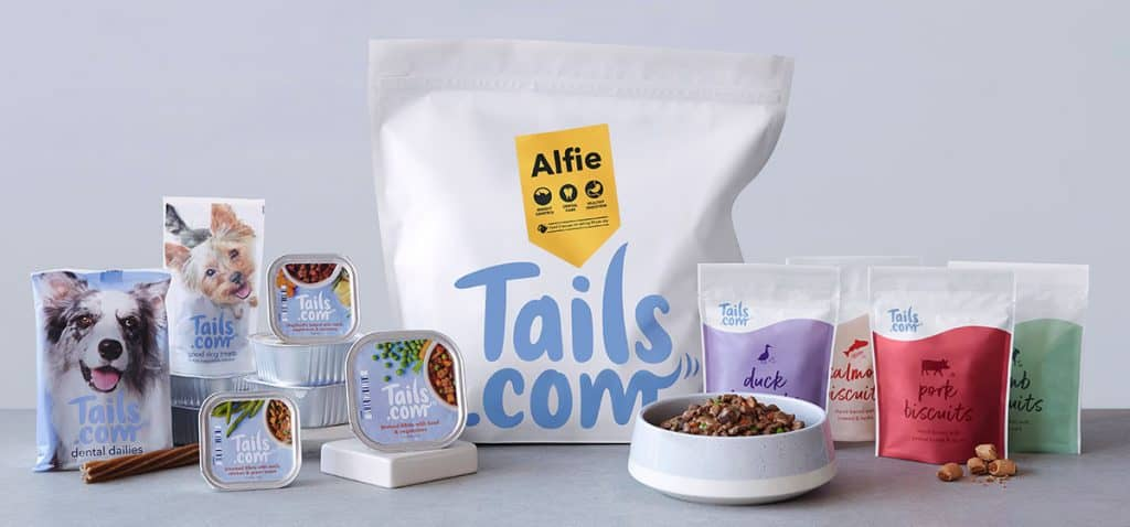 Tails Monthly Food Subscription With Custom Healthy Recipes For Dogs