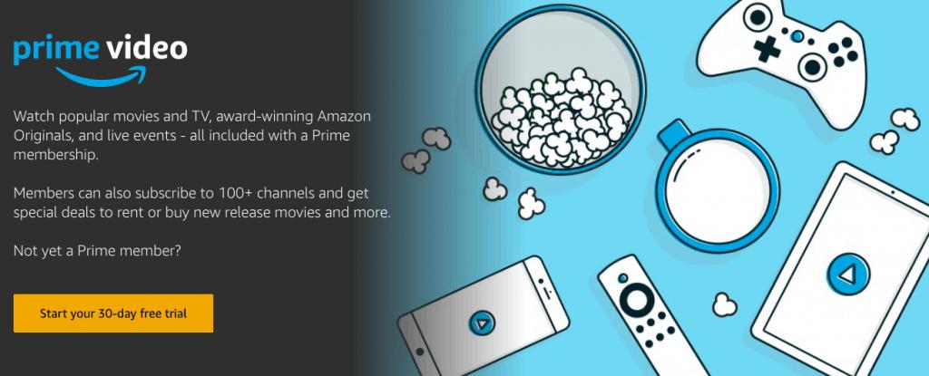 Amazon prime free trial video movie dogs