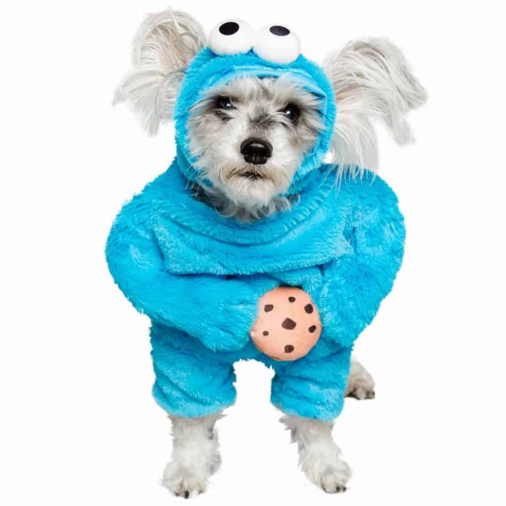 Sesame Street Cookie Monster Dog Costume Halloween