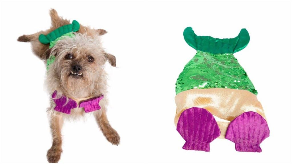 Mermaid Pet Costume - Funny Outfit