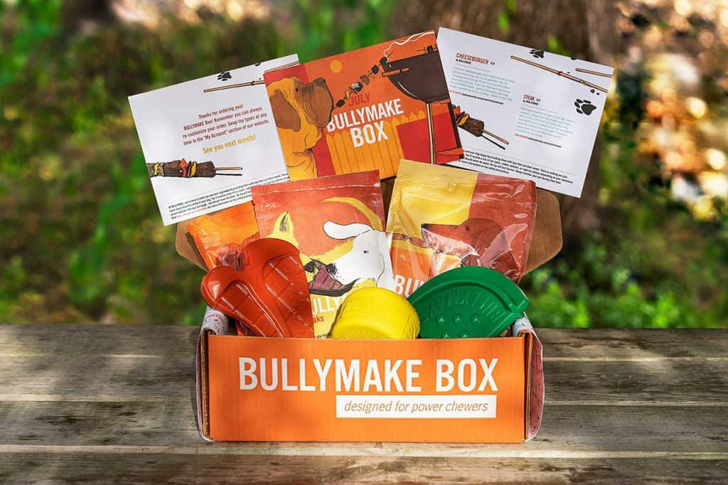 Bullymake Box - Subscription Box With Toys & Treats For Big Dogs