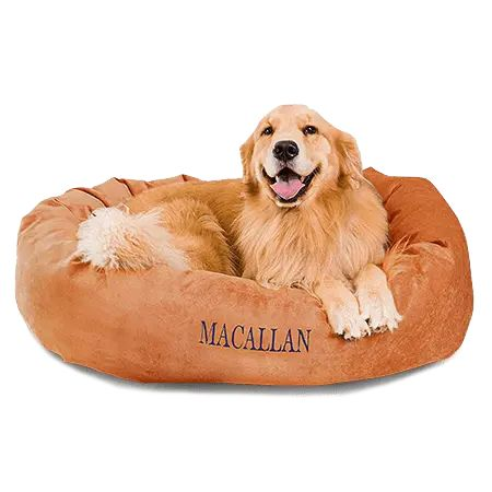 Customizable Comfy & Waterproof Dog Beds With Names Embroidered