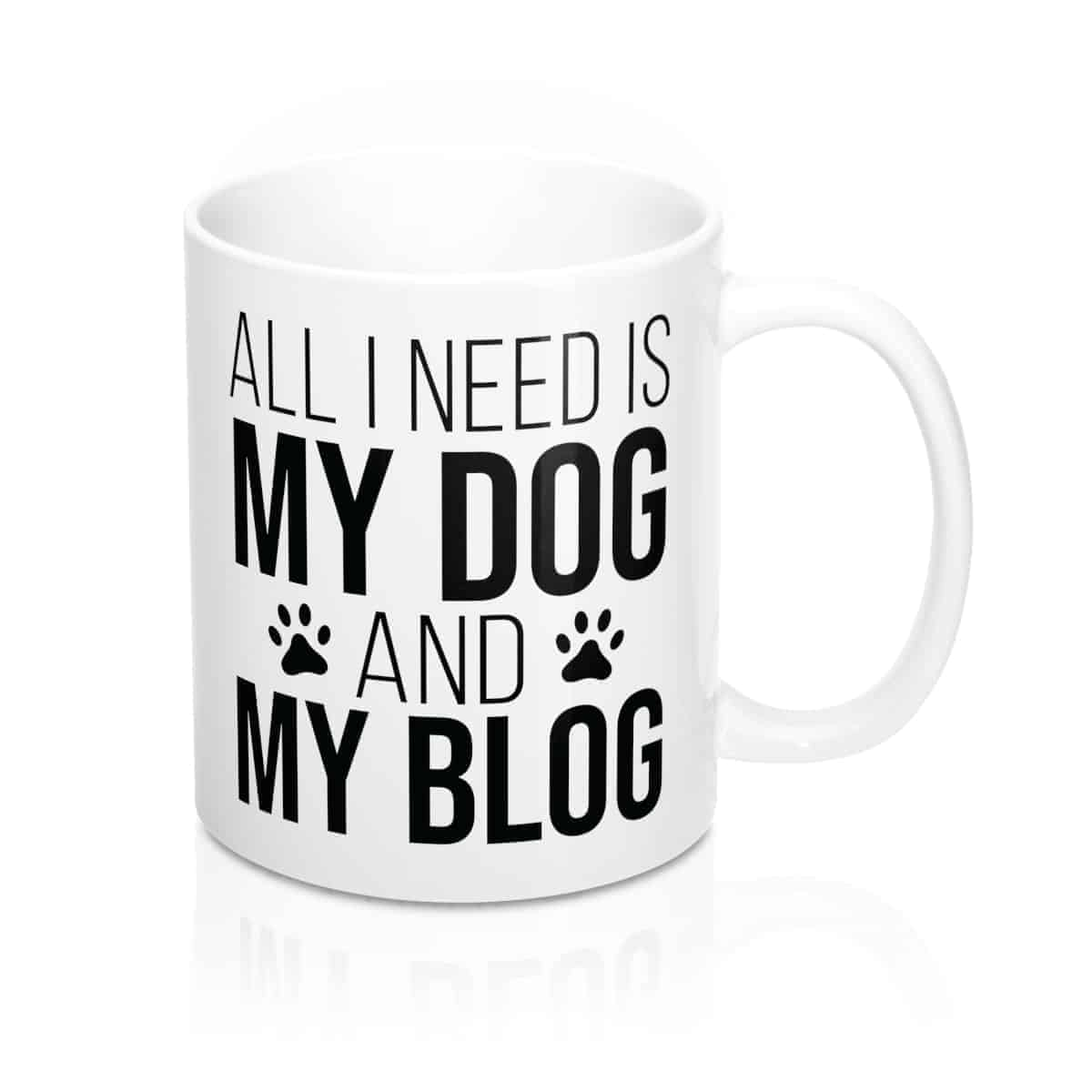 Personalized Mug For Bloggers & Dog Moms