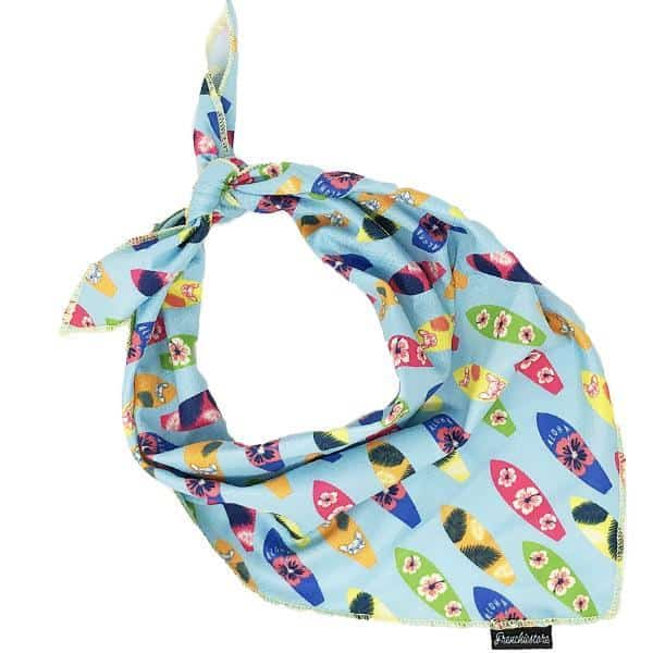 Frenchiestore Dog Cooling Bandana For Heat Relief | Surf Up